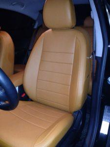 Купить авточехлы на машину из экокожи в Алм