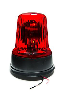 Маяк проблесковый С 12-55 красный